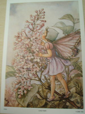 Art Prints With Instructions For Paper Tole  -  Lilac Fairy Plus Free Gift
