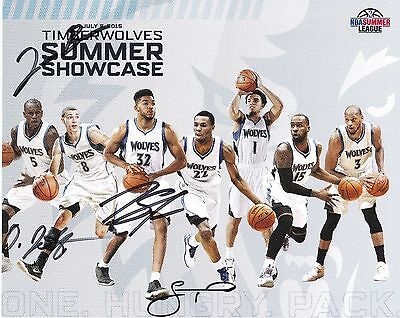 KARL ANTHONY TOWNS Autographed Signed 8X10 photo w/COA Kentucky Timberwolves ROY