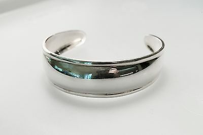 SILPADA Sterling Silver 925 Thick Cuff Design Bracelet 19.4 grams