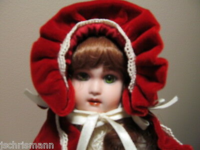 Little Red Riding Hood Franklin Heirloom Doll by Maryse Nicole