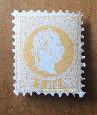 EBS Austro-Hungarian Empire 1882 Offices in Levant 2 Soldi Michel 1 II MNH **