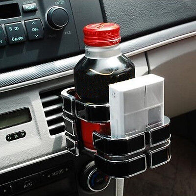 New Black Universal Vehicle Car Truck Drink Bottle Cup Phone Holder Stand tbmo