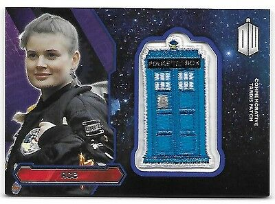 Doctor Who Topps 2015 TARDIS Patch Card Ace