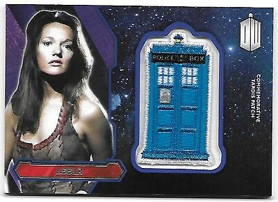 Doctor Who Topps 2015 TARDIS Patch Card Leela
