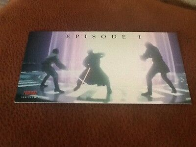 Topps Widevision Star Wars Episode 1 Series Two 80 Card Set