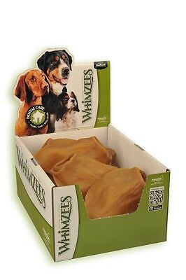 Whimzees Veggie Ears x 18 Dental Chew for Dogs Natural Treat Vegetarian Dog Ears