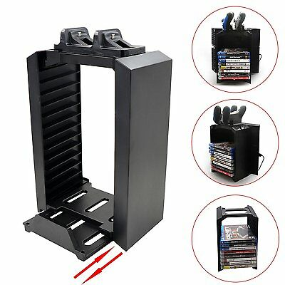 New Multifunctional Storage Stand Charging Dock Station for PS4 Game Controller