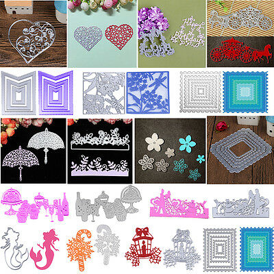 Cutting Dies Stencils for DIY Scrapbooking Photo Album Paper Cards Crafts Decor