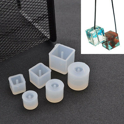 Clear Silicone DIY Beads Mold Bracelet Pendant Jewellery Making Mould Craft