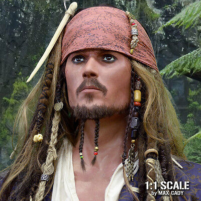 Screen Accurate Jack Sparrow Bandana, pirates of the Caribbean, weathered