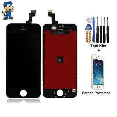 iPhone 5S Screen Black Digitizer Touch repair Replacement LCD Display Assembly