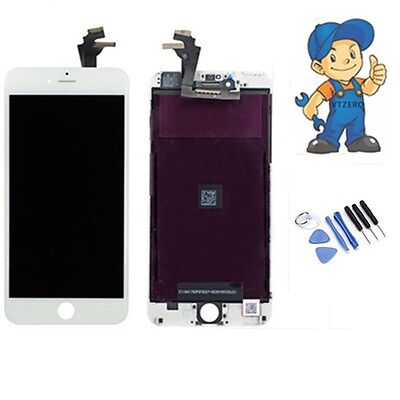 """New iPhone 6 plus 5.5"""" Screen White LCD Display Frame Touch Digitizer Assembly"""