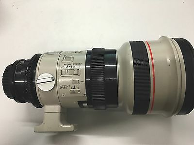 Canon 300mm F2.8 PL Mount Lens For  Arri Alexa, Red