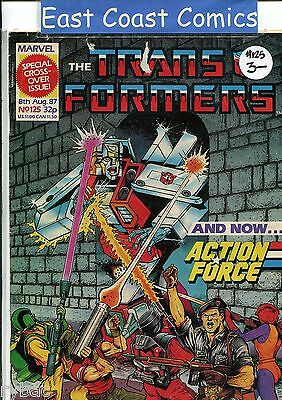 TRANSFORMERS #125 - MARVEL UK WEEKLY COMIC 1980's