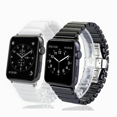 Ceramic Bracelet Watch Band Strap For Apple Watch Series 2 /1 iWatch 38mm 42mm