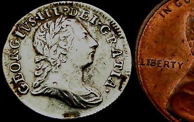 S339: 1772 George III Silver Twopence - Captain Cook sets sail to find Australia