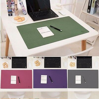 60x35cm Desk Mat Pad Polyester Fiber Leather Large Oversized Waterproof Office