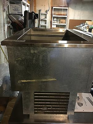 Delfield N8118b Stainless Steel Refrigerated Drop in Cooler