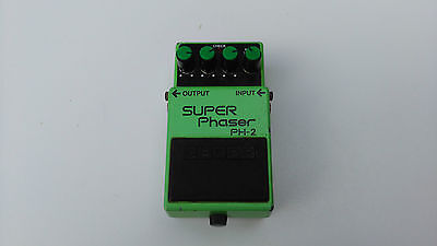 Vintage Boss Ph2 Super Phaser Mij Japan Black Label - Free Delivery In The Uk