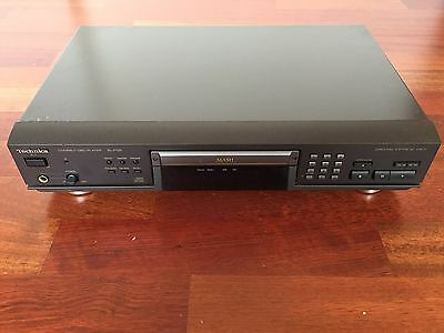 Technics SL-PG5 CD Player with power cable and remote controller