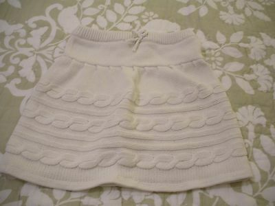 Girls Knitted Skirt By Mothercare Age 6-7 In Good Condition