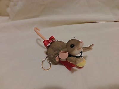 CHARMING TAILS Hanging Mackenzie Mouse Ornament DEAN GRIFF(44)