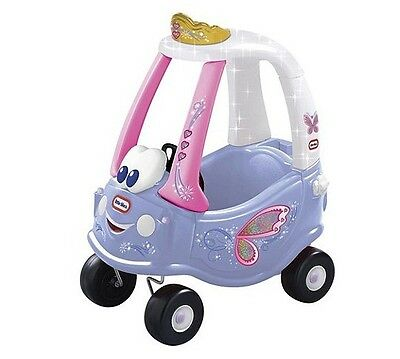 Ride Ons For Kids - Little Tikes Cozy Coupe Fairy Pink Girls Car. Great For Xmas