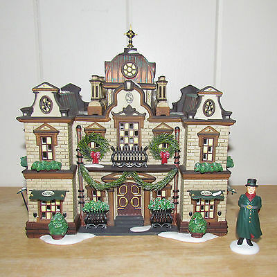 Dept 56 Christmas Dickens Village Building THE SLONE HOTEL D56 #58346