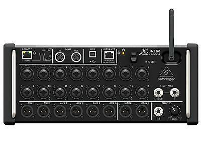 BEHRINGER X Air XR18 Mixer digitale wifi a rack 18 canali, 12 bus, 16 preamp mid
