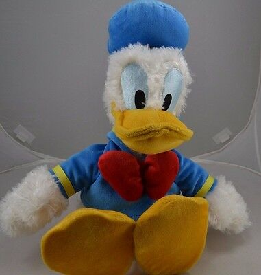 Disneyland Disney FL Donald Duck 20 Inch Yellow Blue Plush Toy Collect Original