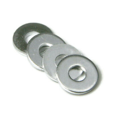 "Aluminum POP Rivet Washers 1/4"" Dia. #8 Blind Rivet Back Up Washers - QTY 100"