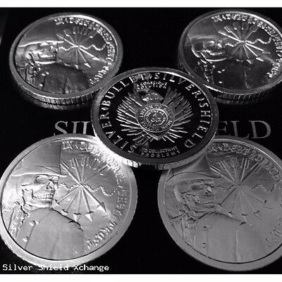 2012 Debt & and Death Wide Reed Silver Bullet Silver Shield SBSS SSG 777