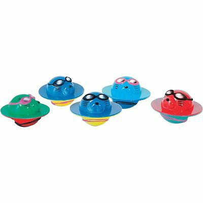 Zoggs Swimming Toys Training Aids Seal Flips Pack of 5