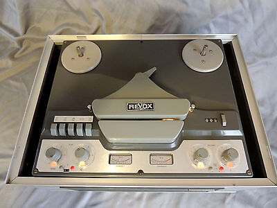 Lovely Revox G36 - Valve Reel to Reel Tape Recorder - Good Working Condition