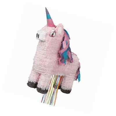 Unicorn Pinata, Pull String. Fun party game / Decoration / Fill with sweets