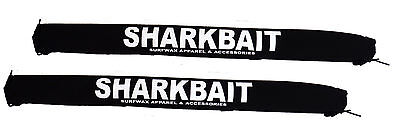 30 inch Black SHARKBAIT Extra Wide car rack pads, Fits Xterras & Hummers