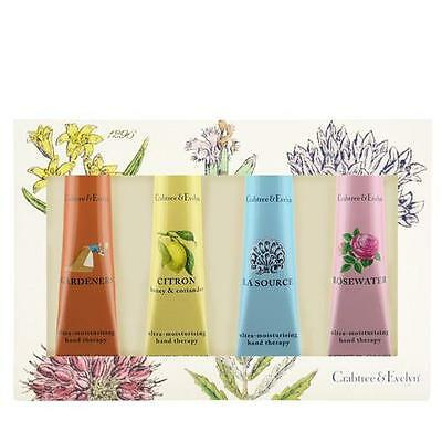 Crabtree & Evelyn 4 x 50g Hand Therapy Gift Set - Favourites