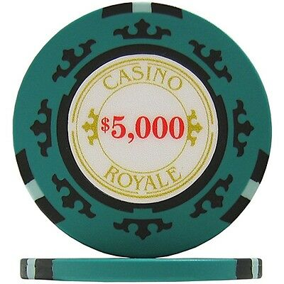 CASINO ROYALE 007 Poker 25 Chips Jetos à $ 5000 in Rolle neu & OVP new & sealed