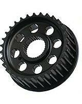 """Vulcan '91-Up Wide Tire XL/Sportster, 1"""" Offset Front Transmission Output Pulley"""