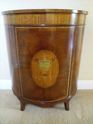 Titchmarsh Goodwin Inlaid Mahogany Commode Antique Style Cabinet Sideboard
