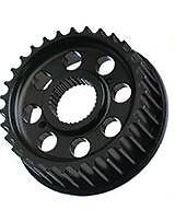 """Vulcan '91-Up Wide Tire XL/Sportster, 3/4"""" Offset Front Transmission Pulley"""