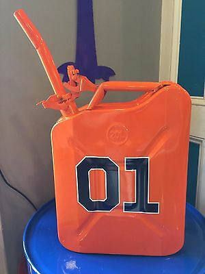 Dukes of Hazzard Steel Jerry Can - Powder Coated - General Lee