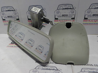 Renault Laguna Mk2 2005 Facelift Rear View Auto Dimming Mirror - 8200000509