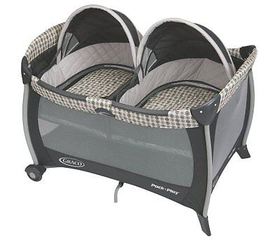 Graco Pack n Play Playard with Twins Bassinet, Vance