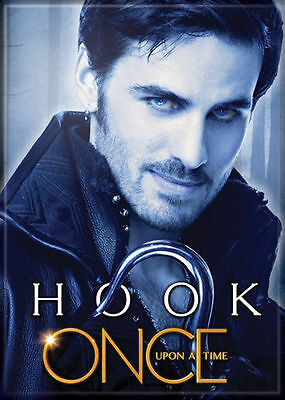 Once Upon A Time Hook 2 1/2 in. x 3 1/2 in Magnet