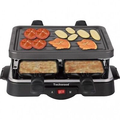 TECHWOOD Raclette 4 Personnes TRA-44