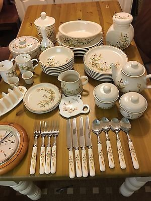 Vintage Marks And Spencer's Harvest Pottery China Job Lot