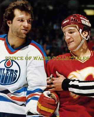 Dave Semenko & Tim Hunter Photo 8X10