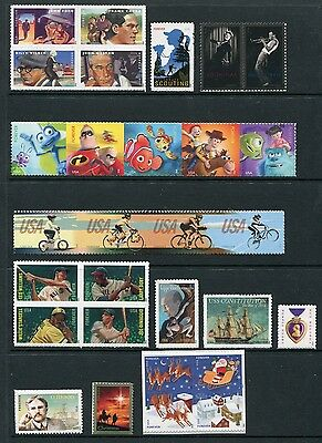 US 2012 Commemorative Year Set - Complete With Mini Sheets - 79 Stamps USA - NH