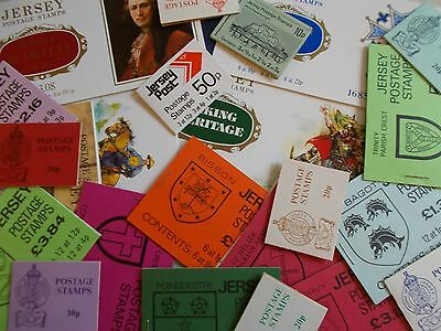 Jersey - Collection of 23 Different Decimal Booklets inc Prestige - Under Face